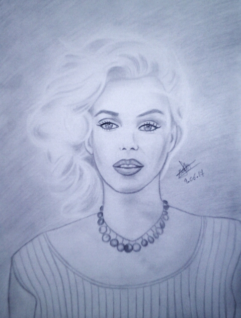 Marilyn Monroe by aline17